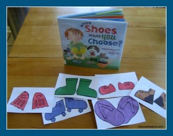Footwear Learning Activities- Read.Explore.Learn.