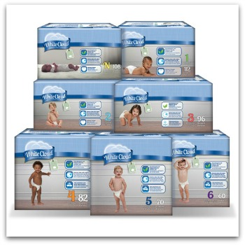 White Cloud Diapers and My Local Food Bank