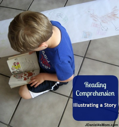 Reading Comprehension Illustrating a Story