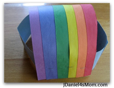 Spring Craft for Kids - Weather Headband