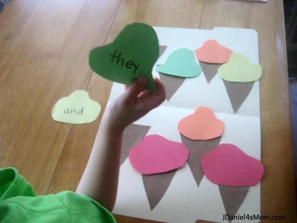 8 Ice Cream File Folder Games for Learning