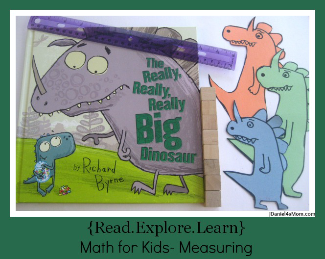 Math for Kids- Measuring Really, Really, Big Dinosaurs