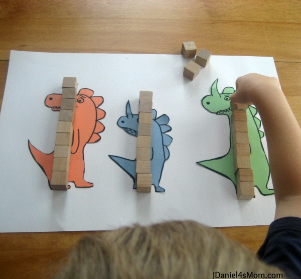 Math for Kids- Measuring Really, Really, Big Dinosaurs : Non- Standard Measurement