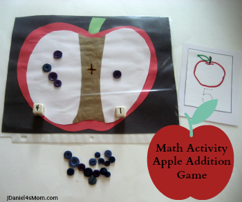 {Read.Explore.Learn.} Math Activities- Number Recognition- Addition Game