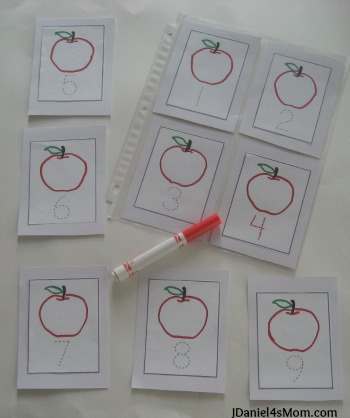{Read.Explore.Learn.} Math Activities- Number Recognition- Writing Numbers to Ten