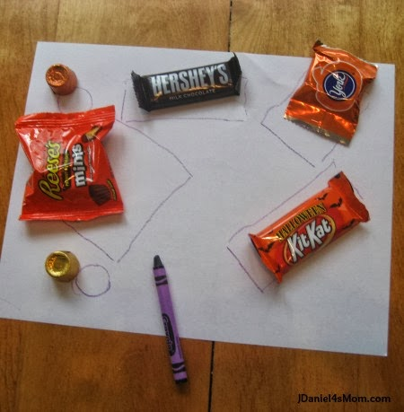 Halloween Treat Bags- Treat Map