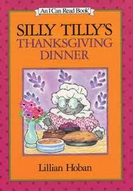 Turkey Craft and a Thanksgiving Book - Silly Tilly's Thanksgiving Dinner