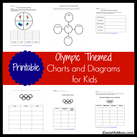 Olympic Themed Charts and Diagrams