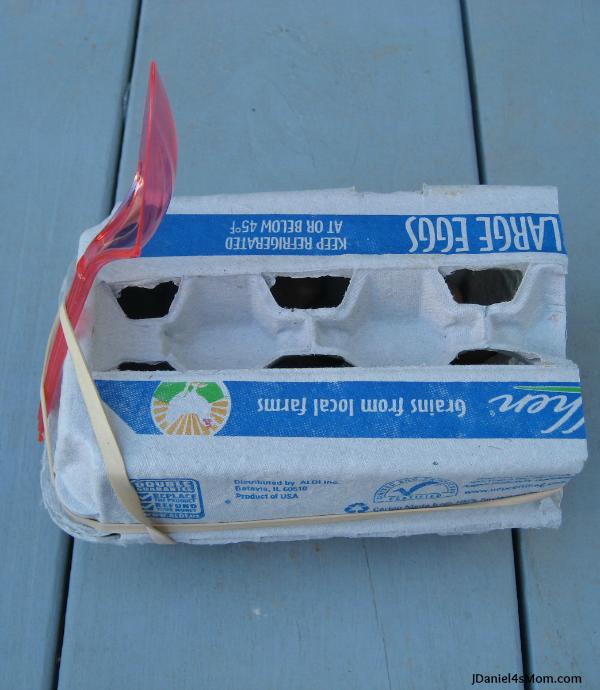Kids Science Egg Carton Catapult