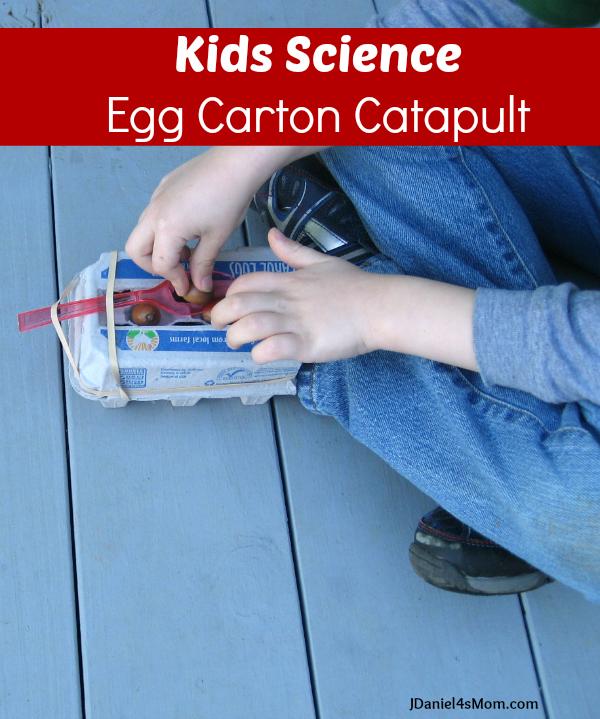 Kids Science- Egg Carton Catapult