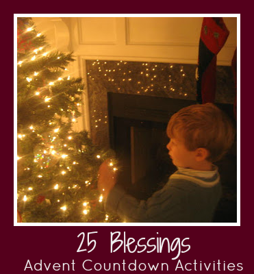 25 Blessings Advent Countdown Activities for Kids