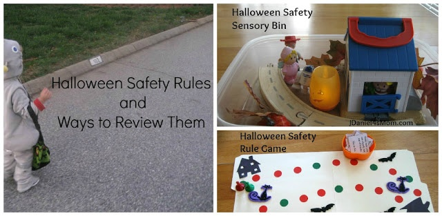 Halloween Safety Rules and Activities to Review Them
