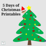5 Days of Christmas Printables Featured