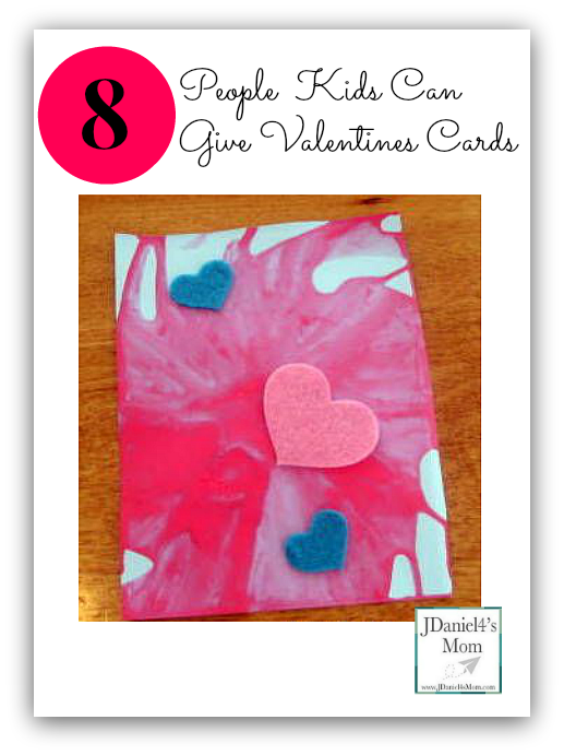 8 People  Kids Can  Give Valentines Cards