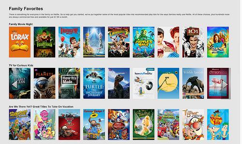 Netflix Provides Rainy Day Fun