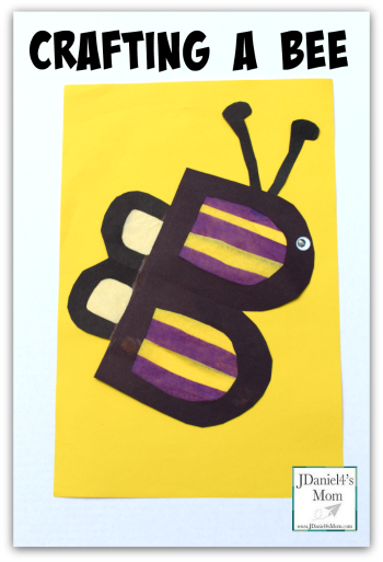 ABC Learning- Crafting a Bee