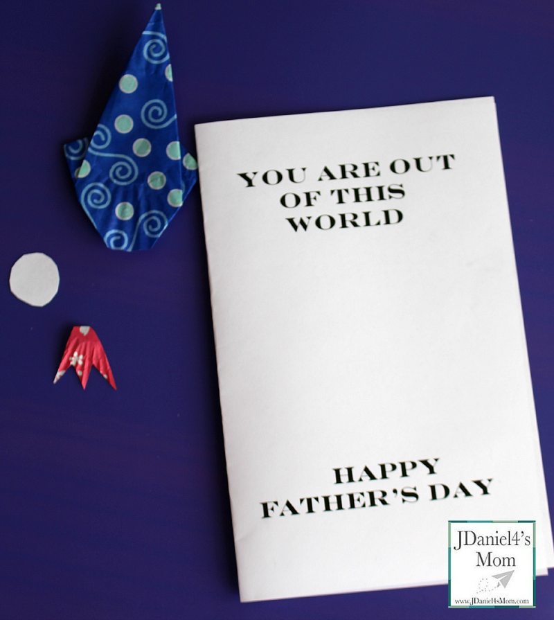 Amazing Out of This World Father's Day Card