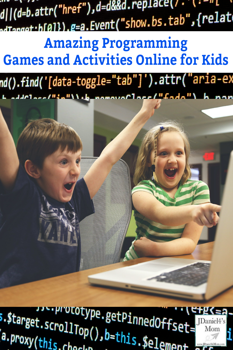 Amazing Programming Games and Activities Online for Kids- Stop by and check out these wonderful free sites for kids to explore and learn about coding on.
