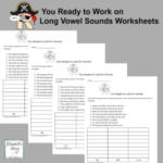 Arrrr You Ready to Work on Long Vowel Sounds Worksheets
