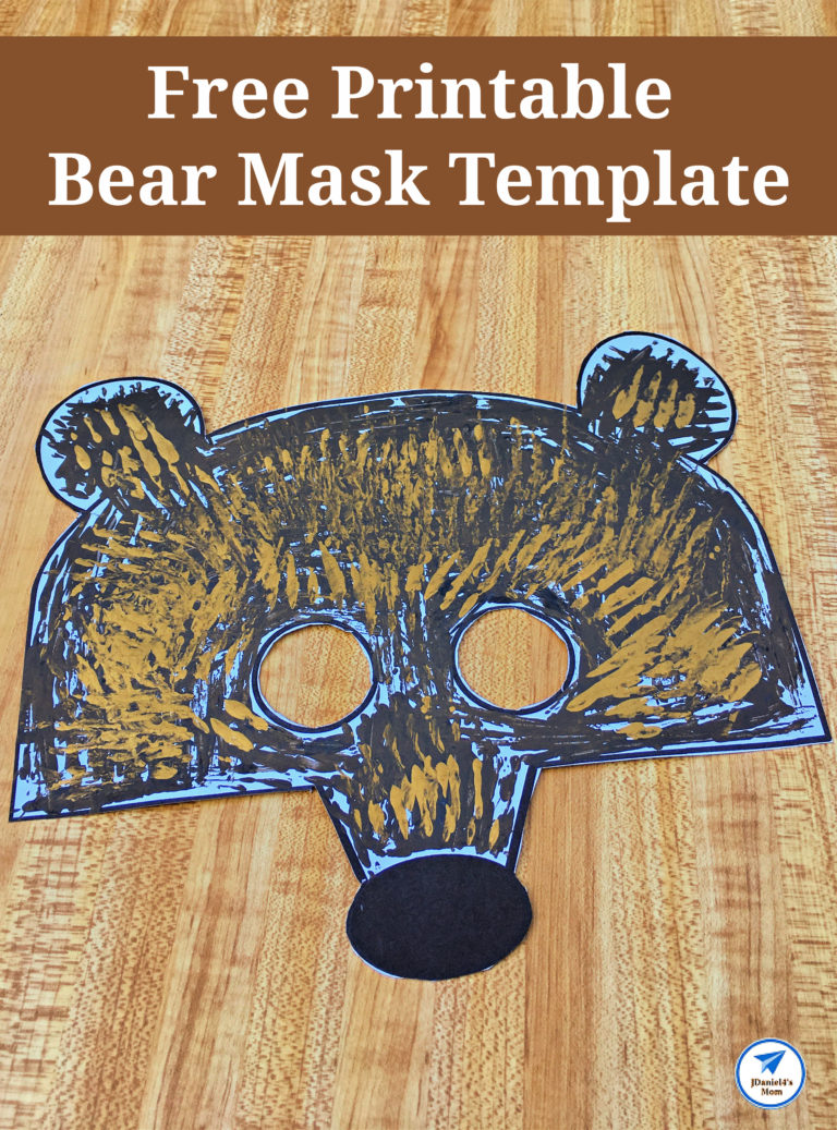 Free Printable Bear Mask Template