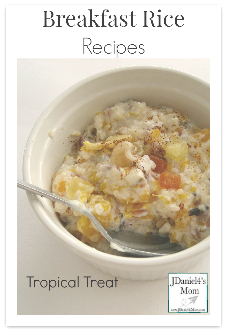 Breakfast Rice Recipes- Tropical Rice Treat