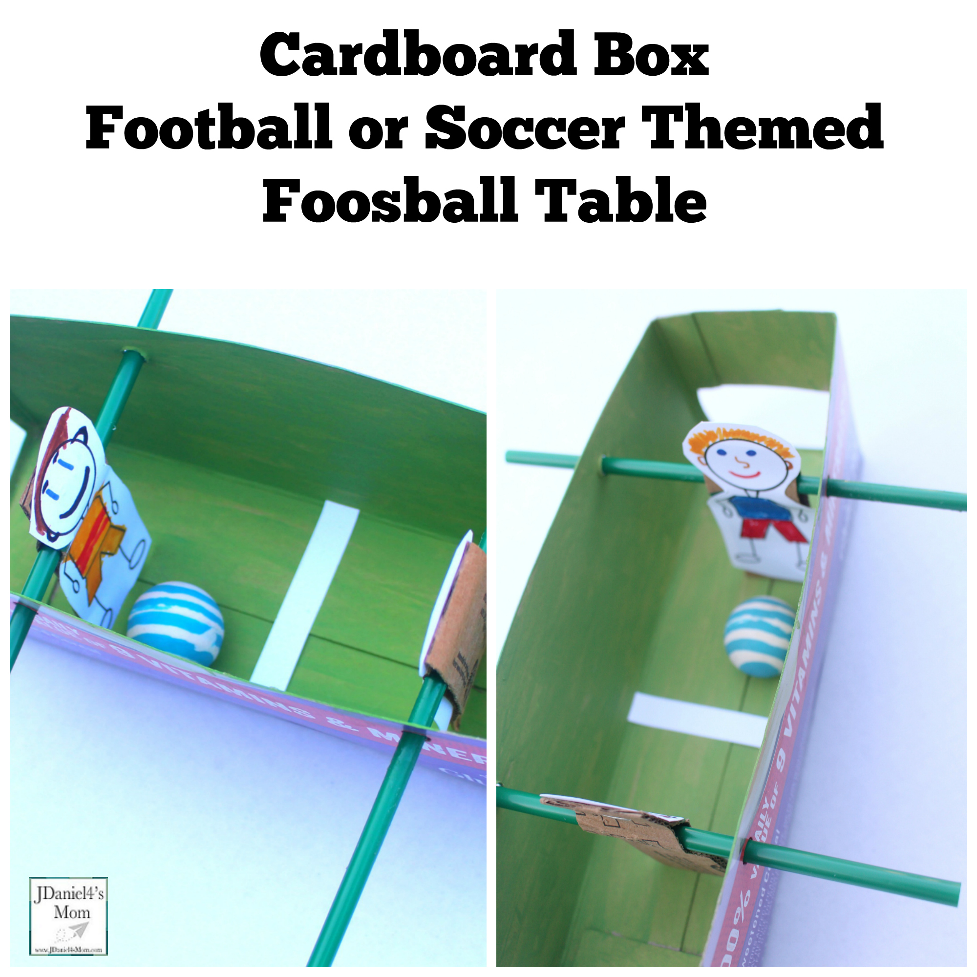 Your Kids Will Have Fun Creating Their Own Football Or