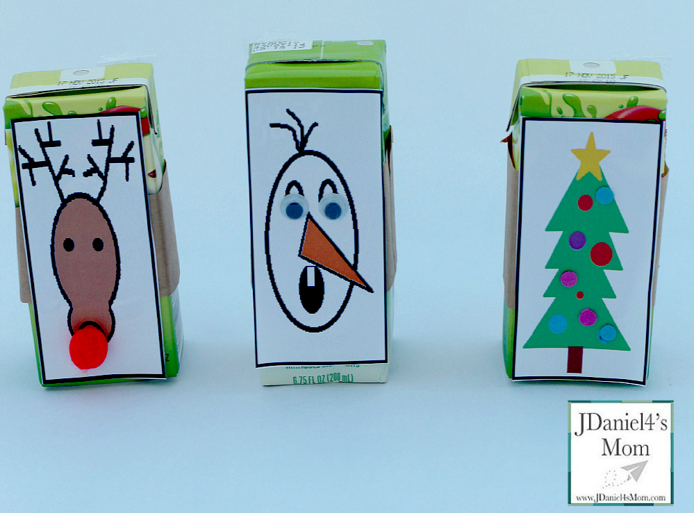 Christmas Party Ideas- Printable Juice Box Covers and More