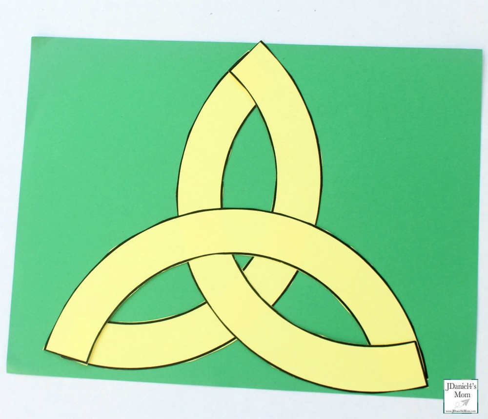 Completed Celtic Knot Picture