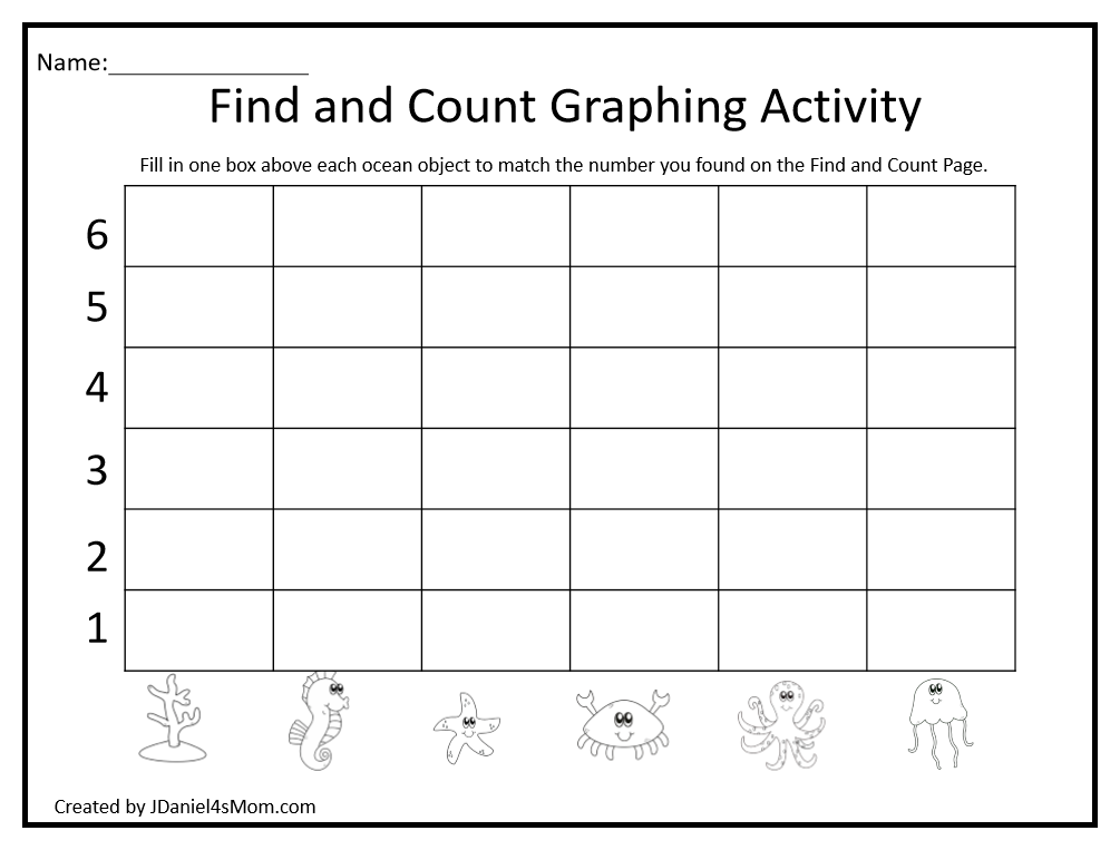 Create a Bar Graph Printable