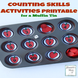 Ten Apples Up on Top Counting Skills Activities Printable