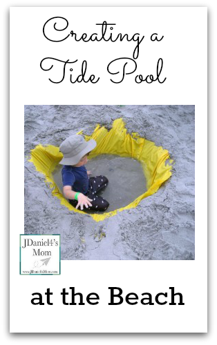 Creating a Tide Pool at the Beach