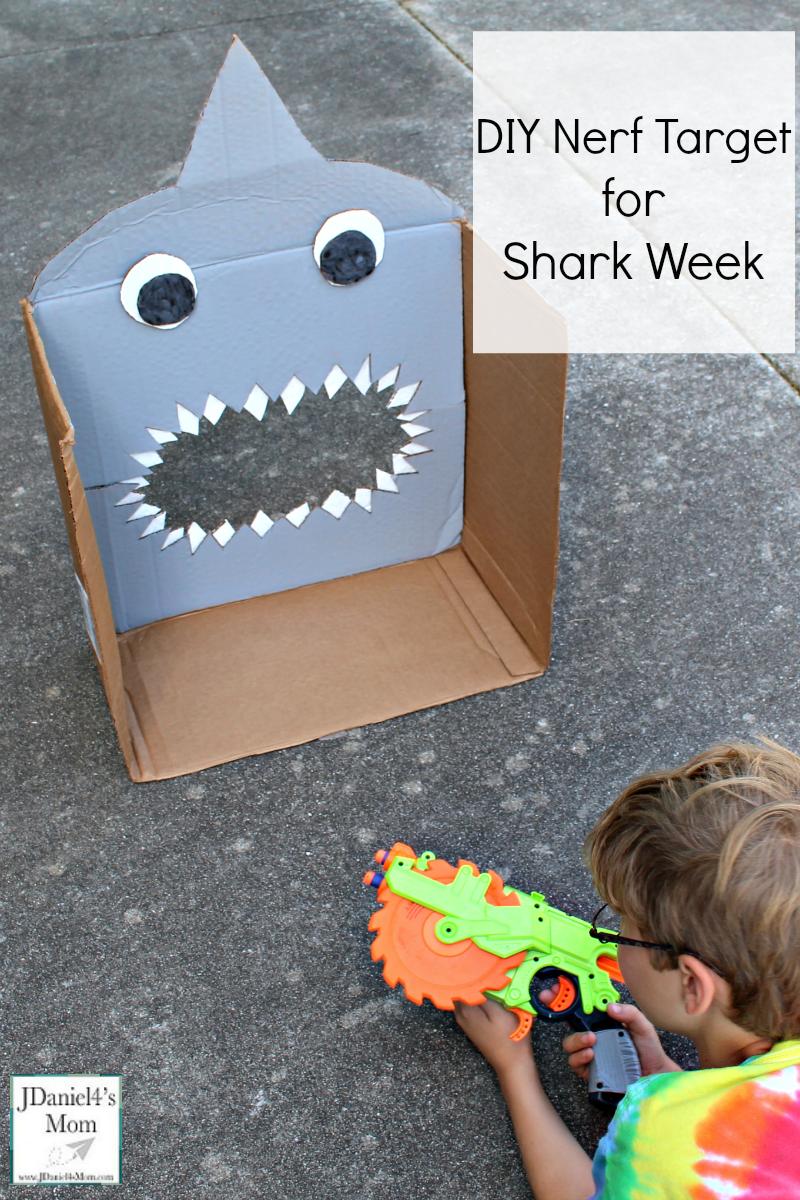 Diy Nerf Target For Shark Week Jdaniel4s Mom