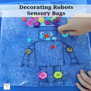 Decorating Robots in Sensory Bags