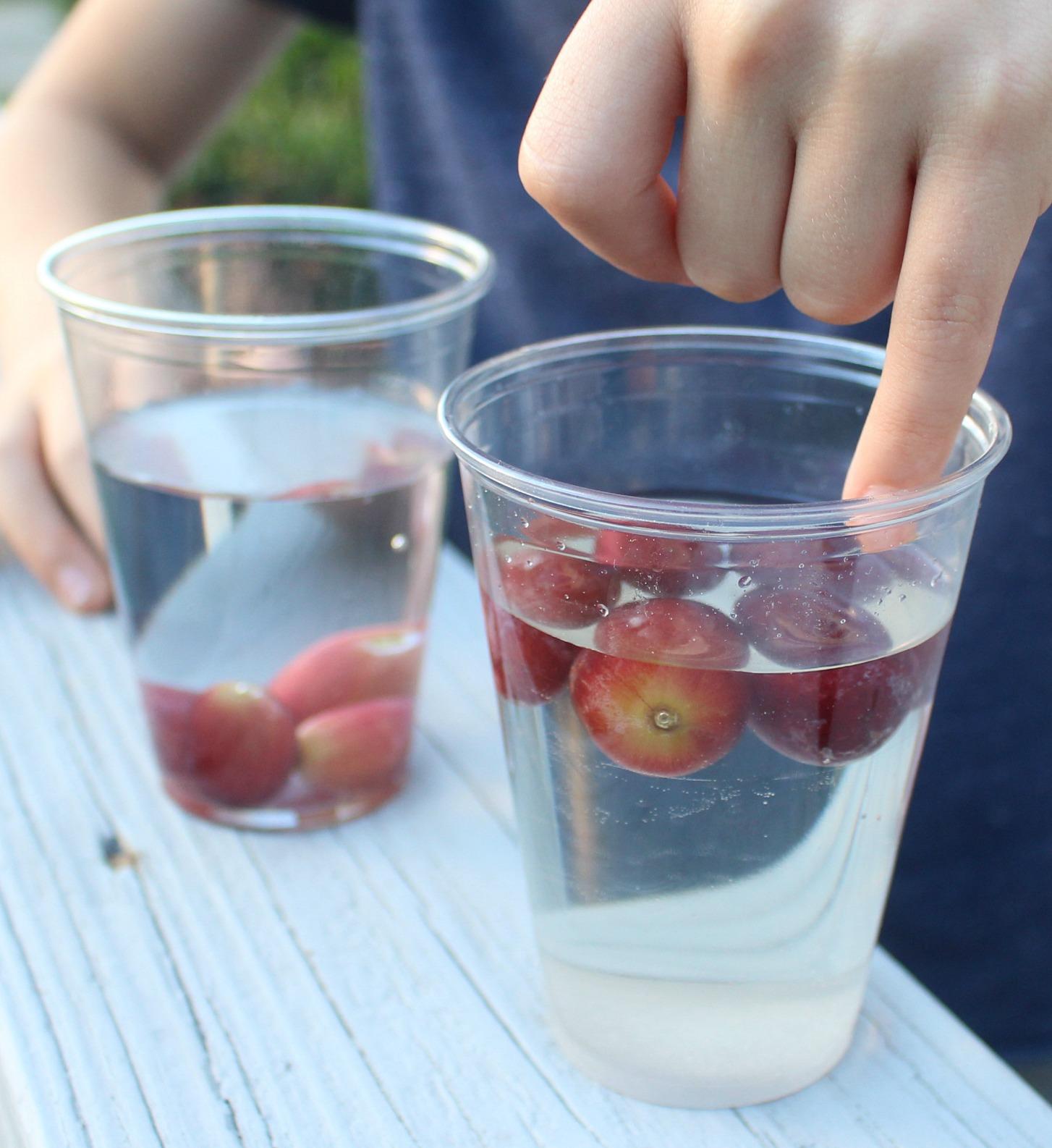 Do Grapes Sink or Float? Sugar Density Experiment - JDaniel4s Mom