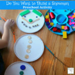 Do You Want to Build a Snowman Preschool Activity