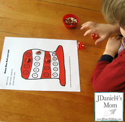 Learning Activities with Dr Seuss Characters
