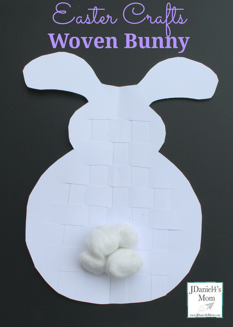 Easter Crafts Woven Bunny