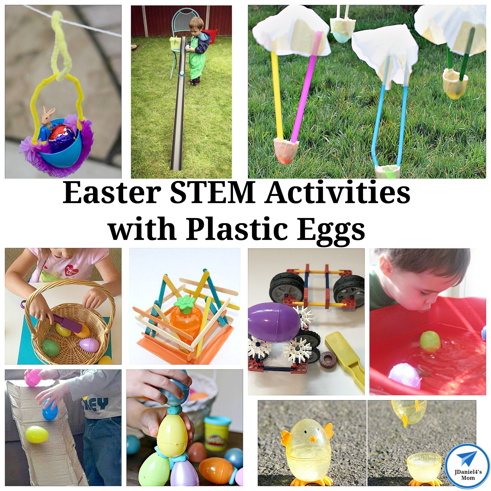 Easter STEM Activities with Plastic Eggs