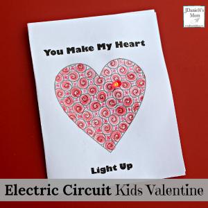 Electric Circuit Kids Valentine