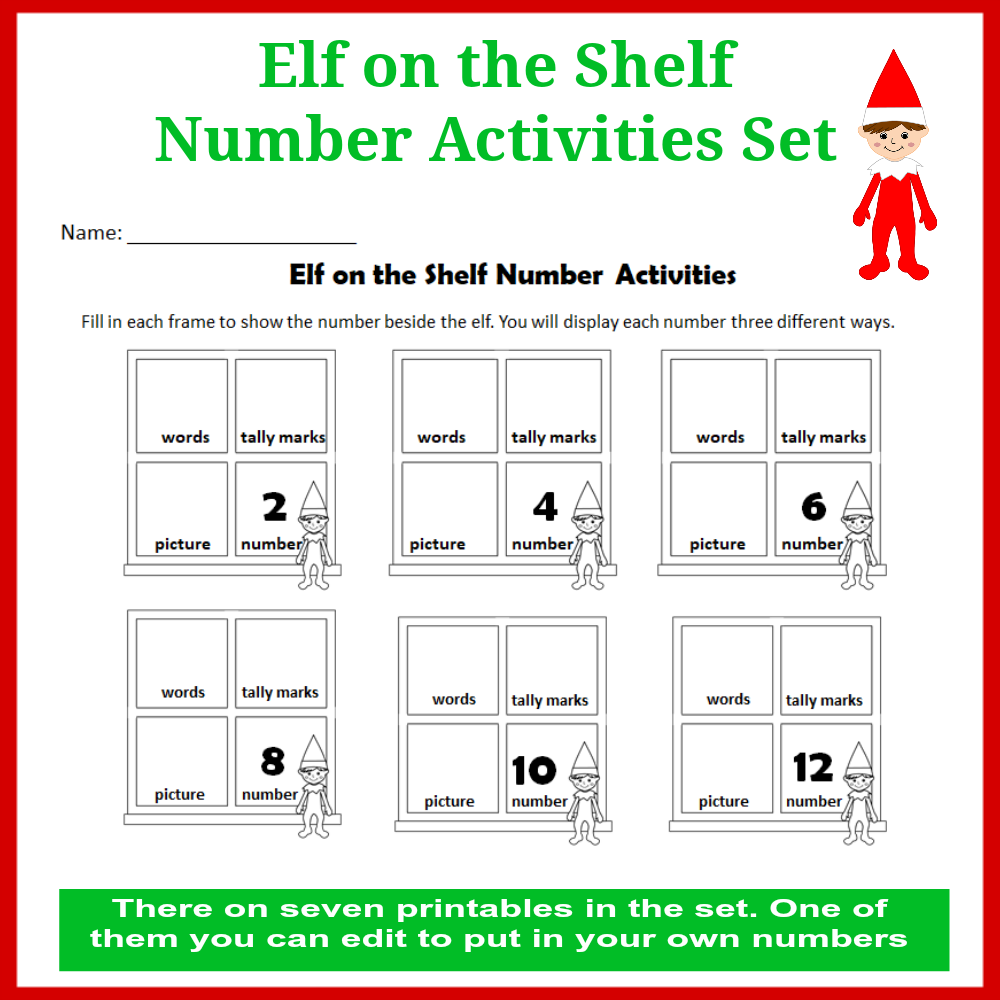 photograph relating to Elf Printable Coupons referred to as Elf upon the Shelf Selection Functions Fixed