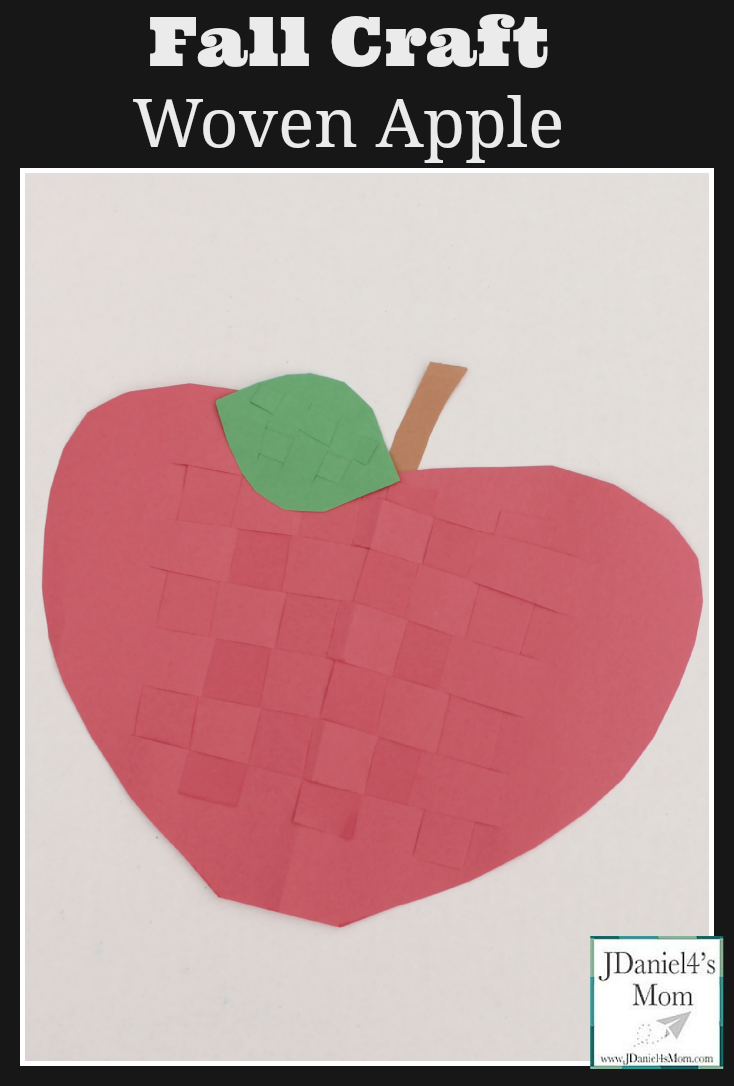 Fall Craft Woven Apple