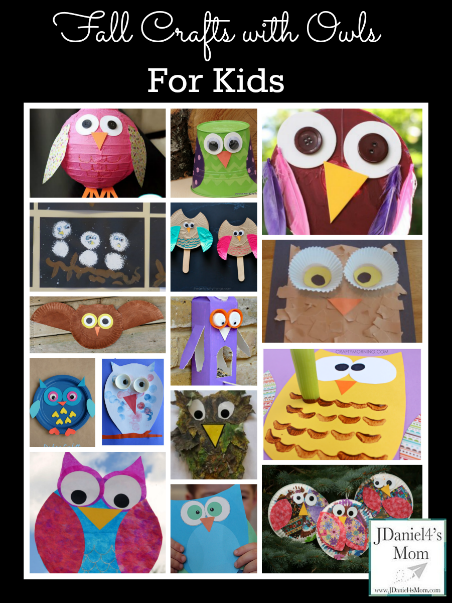 crafts with owls for kids