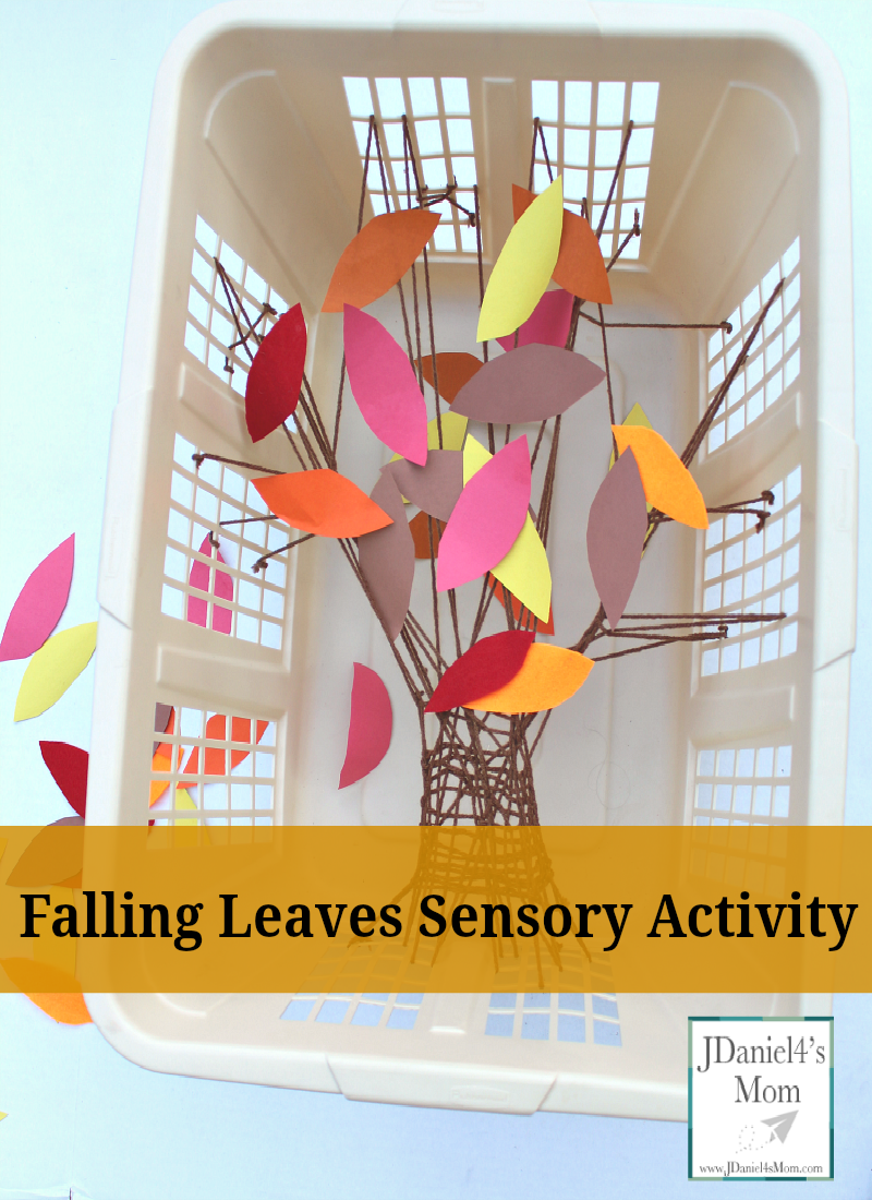Falling Leaves Sensory Activity