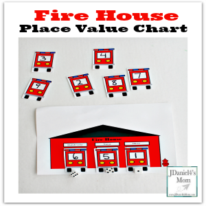 Fire House Place Value Chart