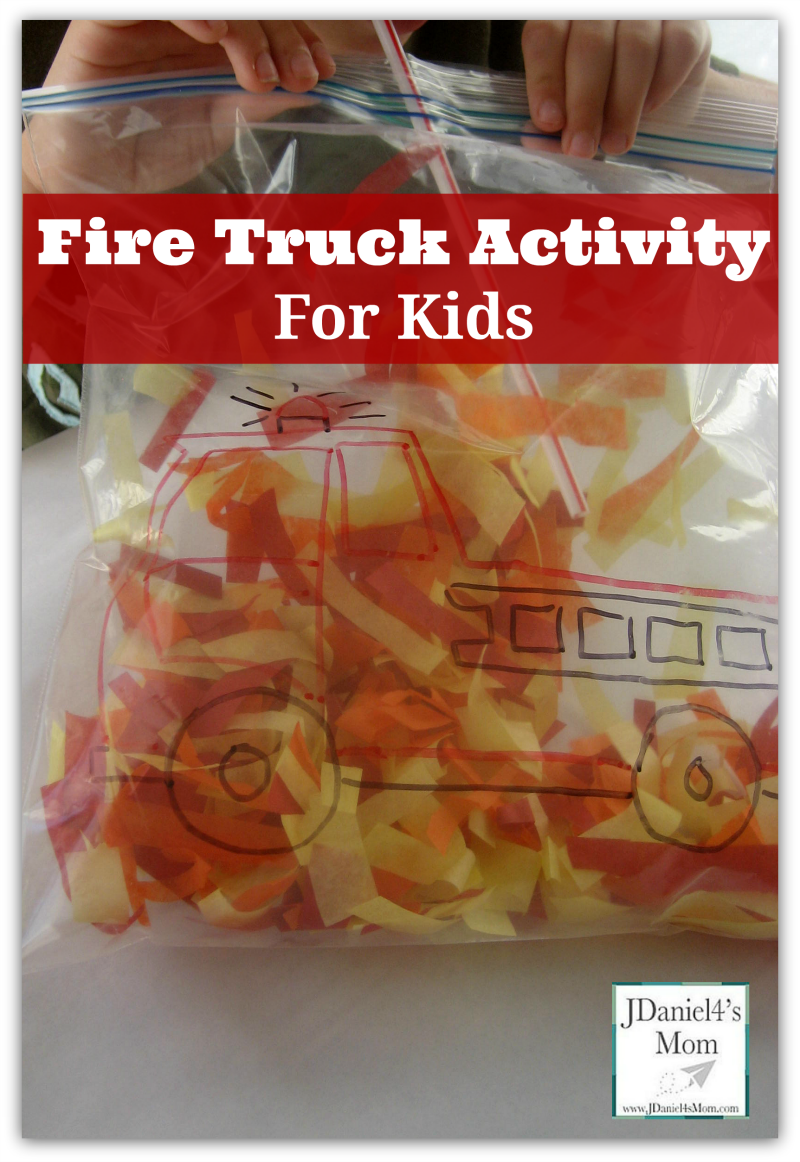 Fire truck activity for kids for Health craft cookware reviews