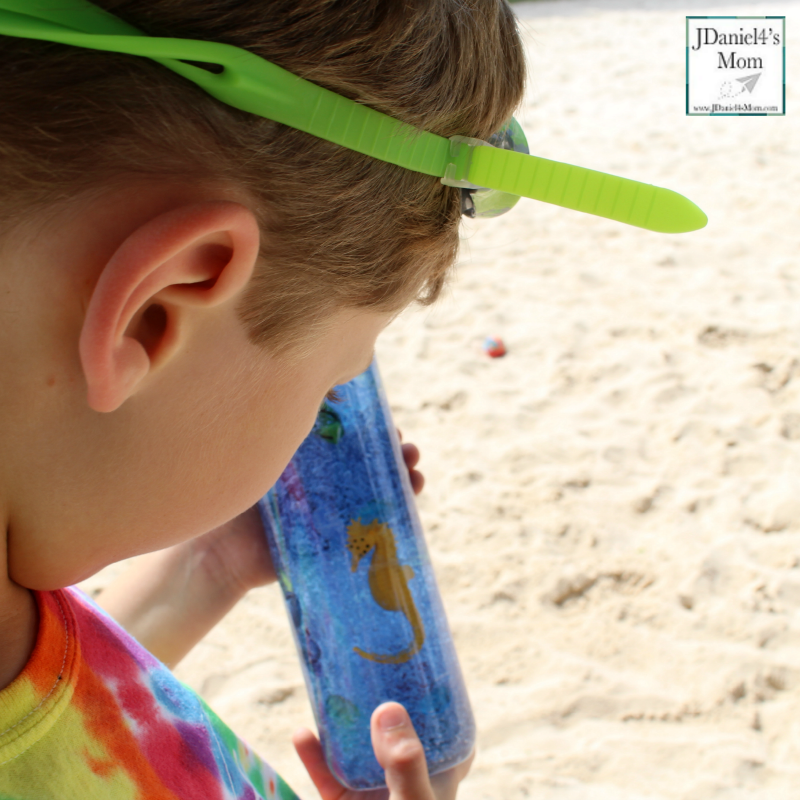 Five Ways to Explore Sensory Bottles- I Spy
