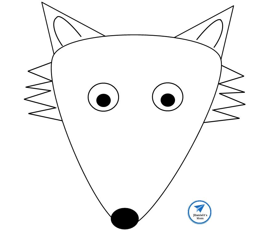 Puppet Template | Fox Paper Bag Puppet Template Jdaniel4s Mom