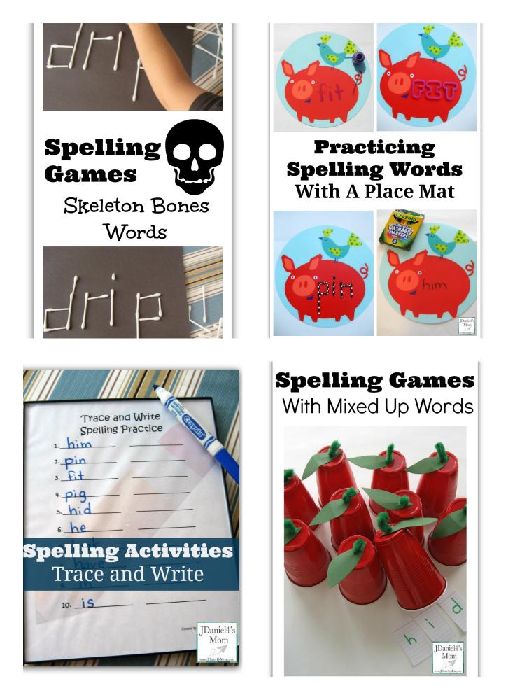 Free Spelling Games Printable- Spelling Ladders
