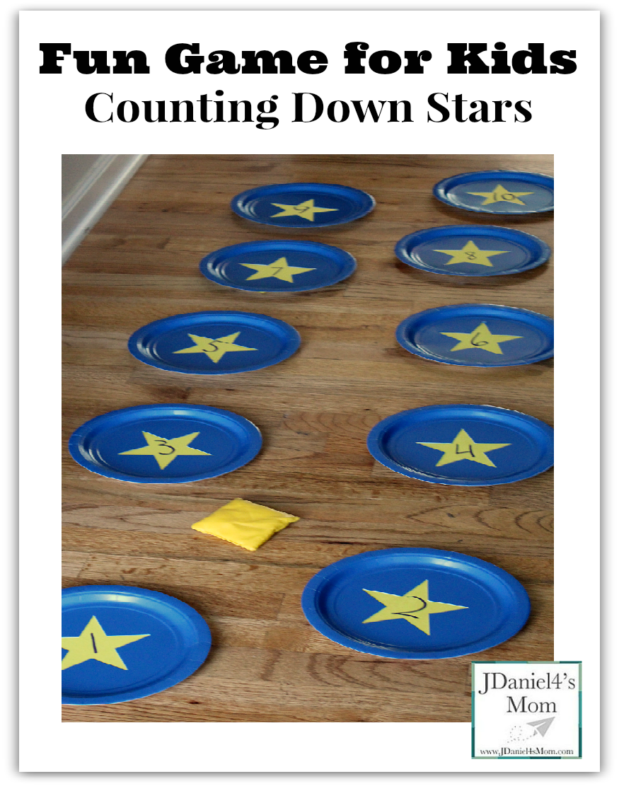 Fun Game for Kids- Counting Down the Stars