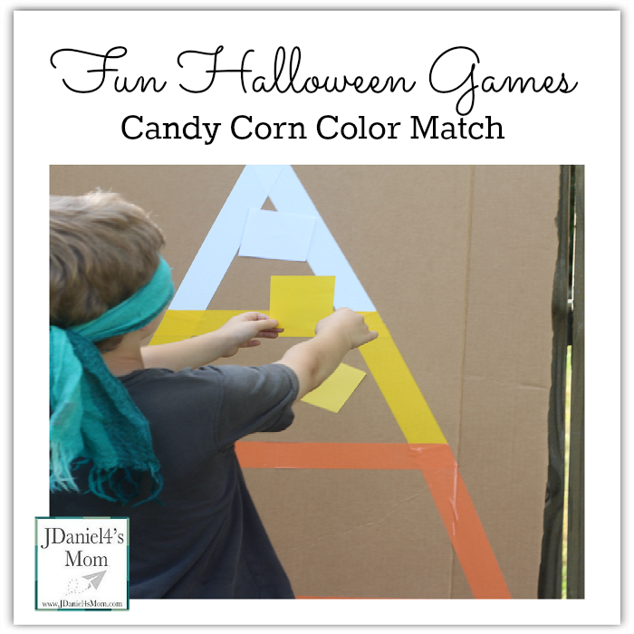 Fun Halloween Game- Candy Corn Color Match